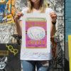 Polar Bear Coffee Charlotte Farmer Screen Print Print Club London