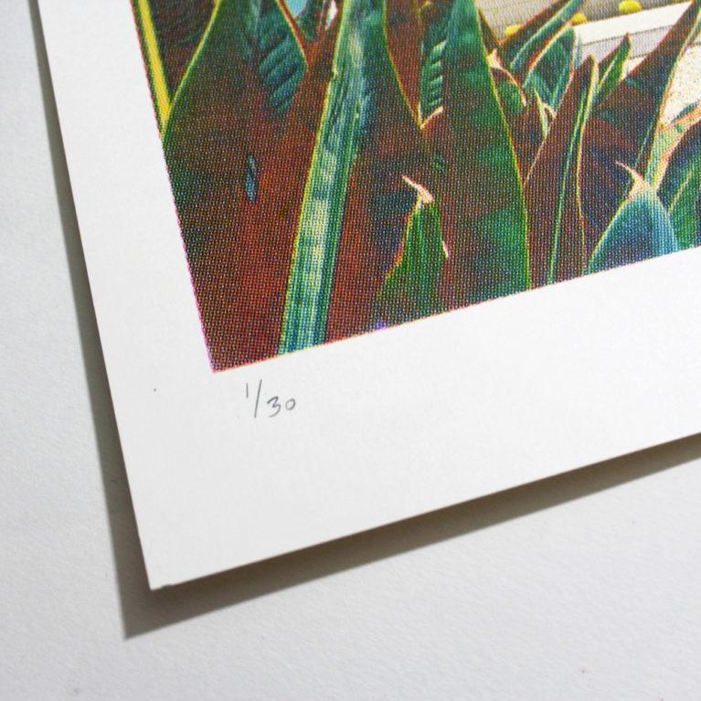 Roadtrip 1 Maxine Gregson Print Club London Screen Print