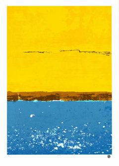 Gili Air Clementine Swift Print Club London Screen Print