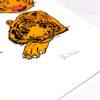 12 Tigers Diikii Print Club London Screen Print