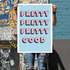 Pretty Good Chris Murphy Print Club London Screen Print