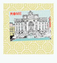 Piccola Roma Clare Halifax Print Club London Screen Print