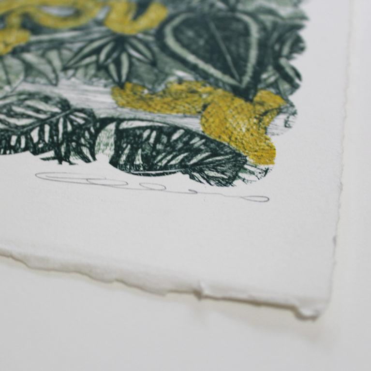 Clare Halifax Print Club London Screen Print