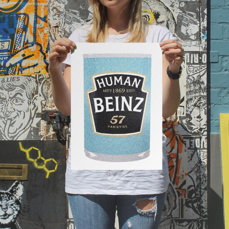 Human Beinz William Blanchard Print Club London