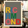 Richmond Oli Fowler Print Club London Screen Print