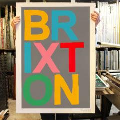 Brixton Oli Fowler Print Club London Screen Print