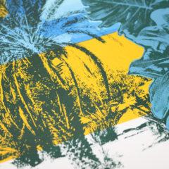 Caitlin Parks Blue Riad Print Club London Screen Print