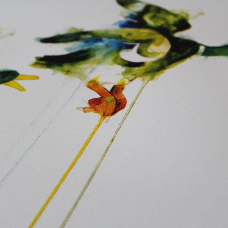 Three Flying Ducks Gavin Dobson Print Club London Screen Print