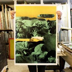 Heart Of Darkness Ellie Foreman-Peck Print Club London Screen Print
