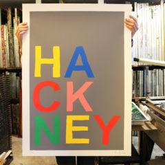 Oli Fowler Hackney Print Club London Screen Print