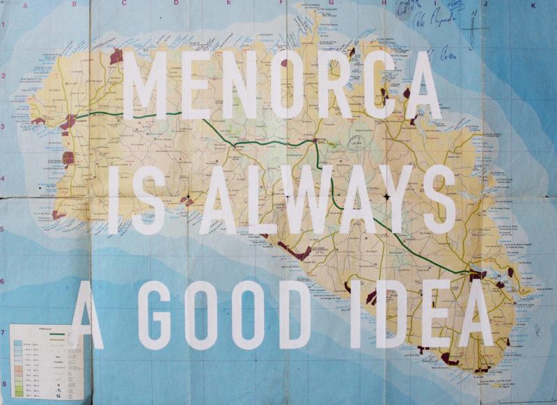 Menorca Is Always A Good Idea Print Club London