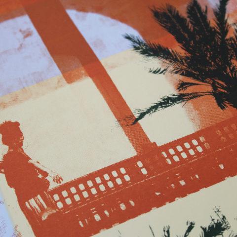 Caitlin Parks Moroccan Haze Print Club London Screen Print