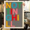 Notting Hill Oli Fowler Print Club London Screen Print