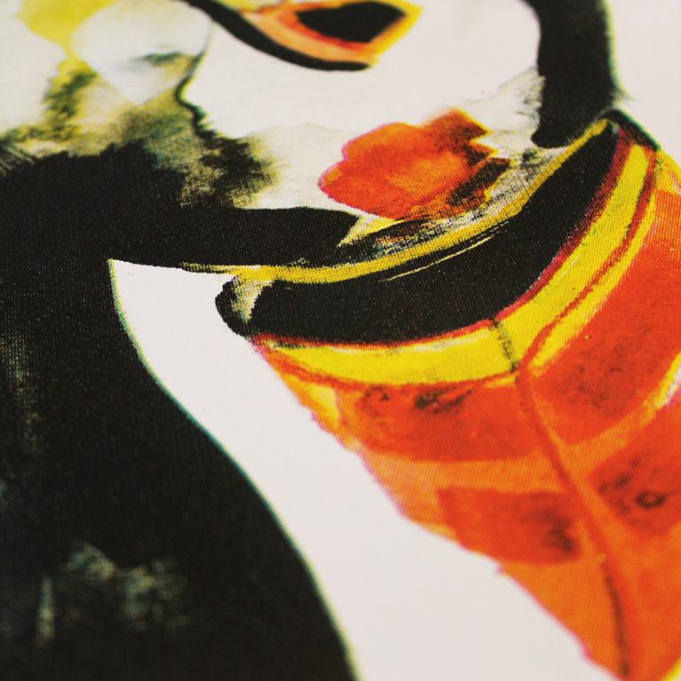 Puffin Gavin Dobson Print Club London Screen Print