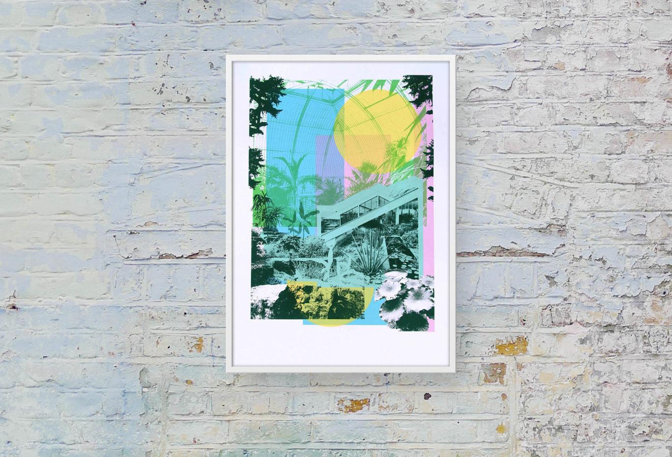 Kew Gardens Caitlin Parks Print Club London Screen Print
