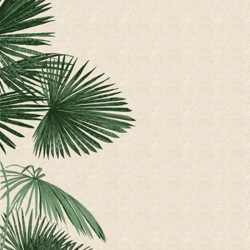 A Side Of Palm Clare Halifax Print Club London Screenprint