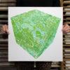 Cube Chris Keegan Print Club London Screen Print