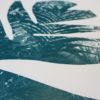 Palm Black Craig Keenan Print Club London Screen Print