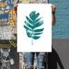 Palm Green Craig Keenan Print Club London Screen Print