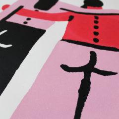This Forever Rozalina Burkova Print Club London Screen Print