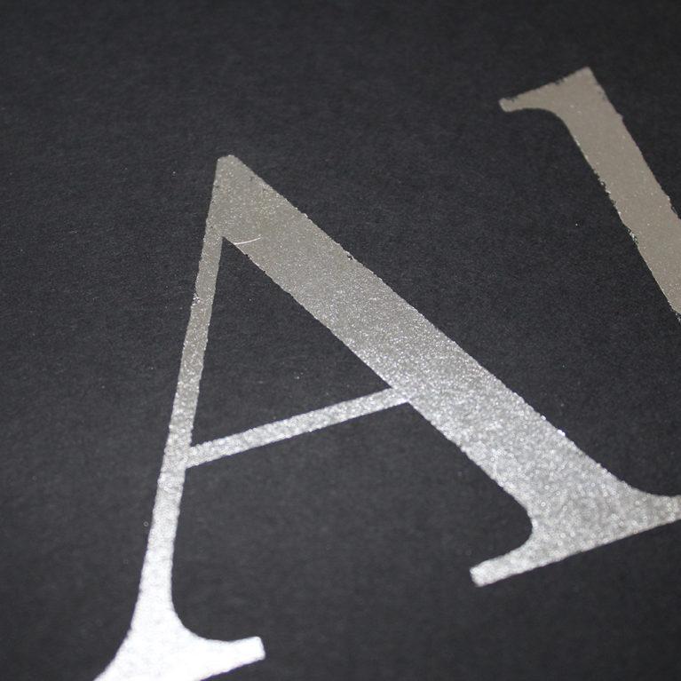Aluminium Ricky Byrne Print Club London Screen Print
