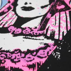 No Regrets Ben Rider Print Club London Screen Print