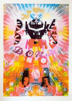 False Idol Donk Print Club London Screen Print