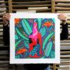Longing Margaux Carpentier Screen Print Print Club London
