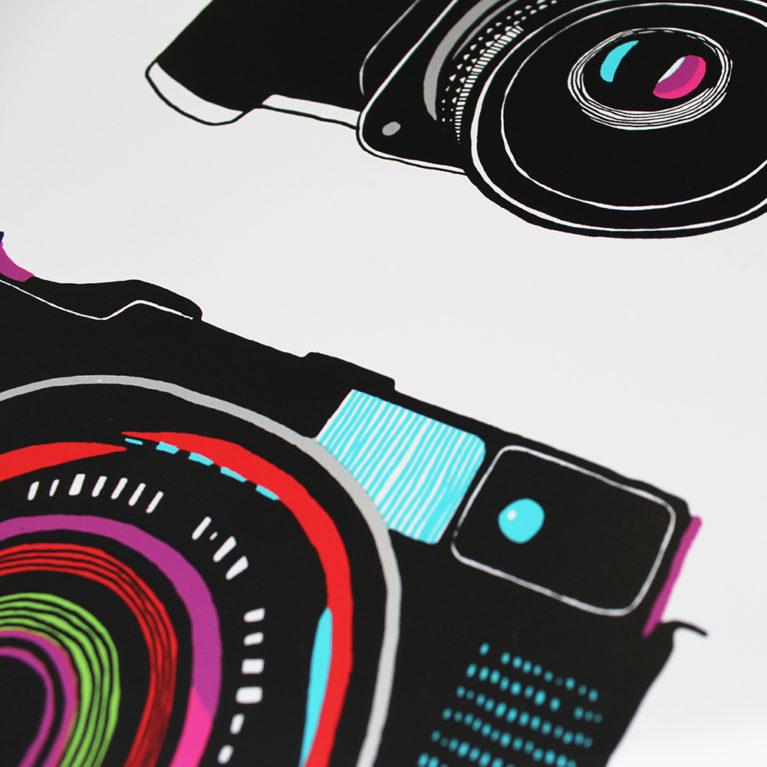 Medium Format Hannah Forward Print Club London Screen Print