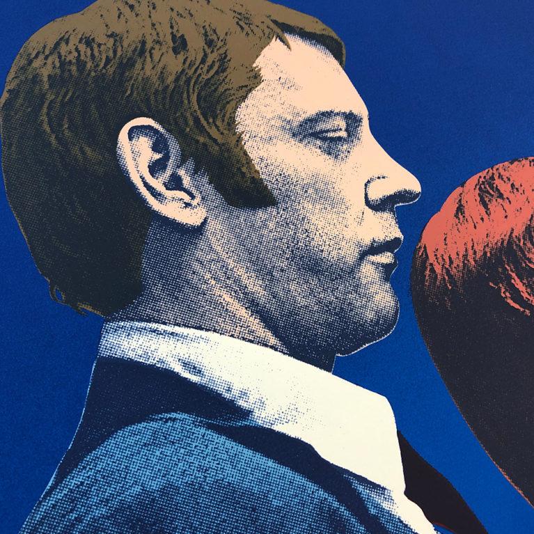 Party Fears Two Robert McSpadyen Print Club London Screen Print