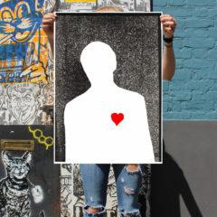 Remember, It's My Heart Neil Van Der Knutsen Print Club London Screen Print