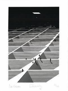 Eternity John Karborn Print Club London Screen Print
