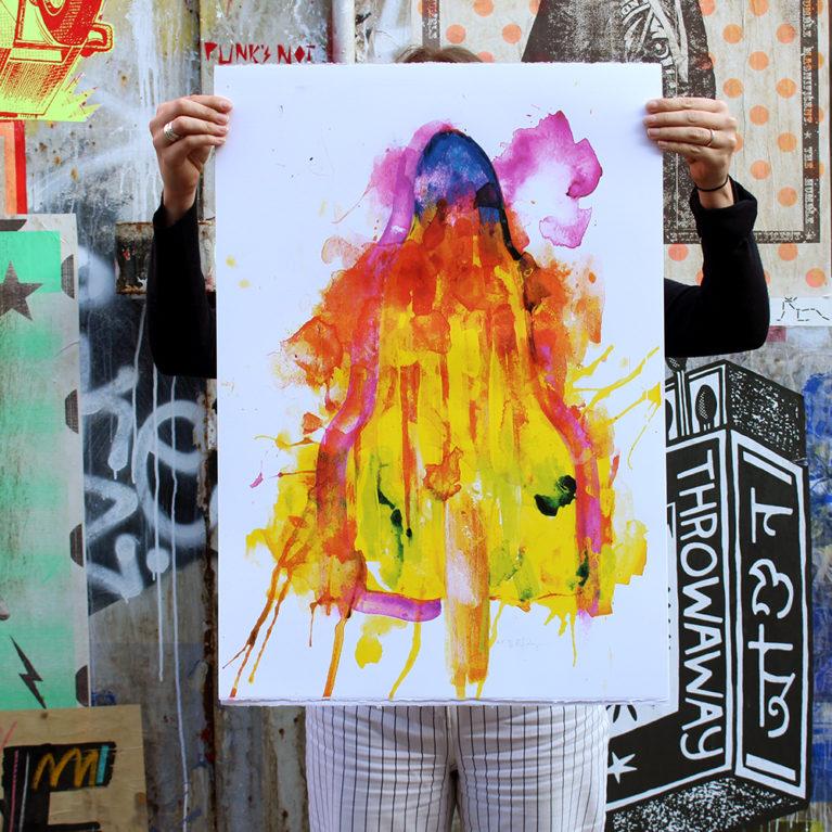 Rocket Gavin Dobson Print Club London Screen Print