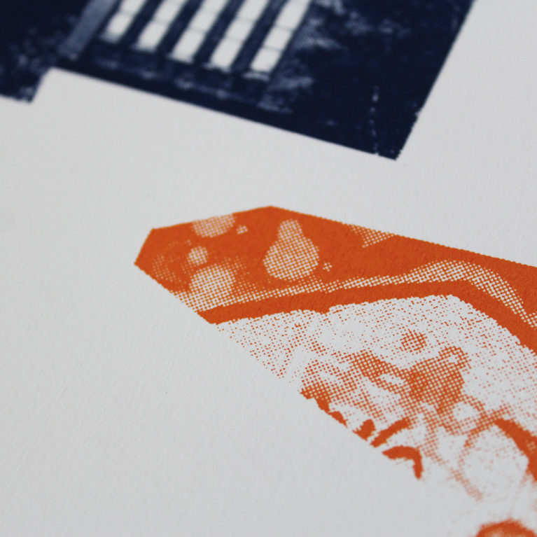 Southbank Icons Underway Studios Print Club London Screen Print