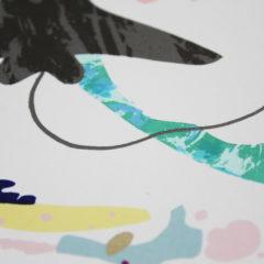 Sting Rays Swimming Indra Gersone Print Club London Screen Print